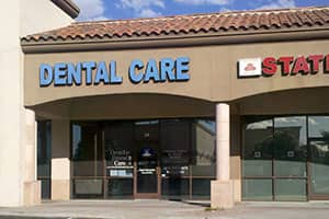 Store front of Ocotillo Dental Care in Chandler, AZ